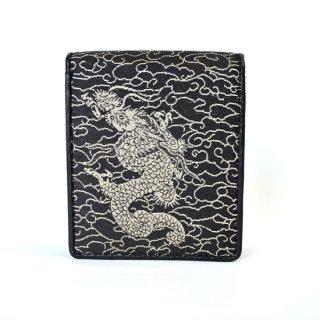 山楽 二つ折り財布【獅子】