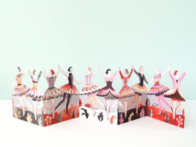 Dancers Card by Sarah Young