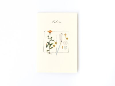 Birthstones and Flowers Card / October