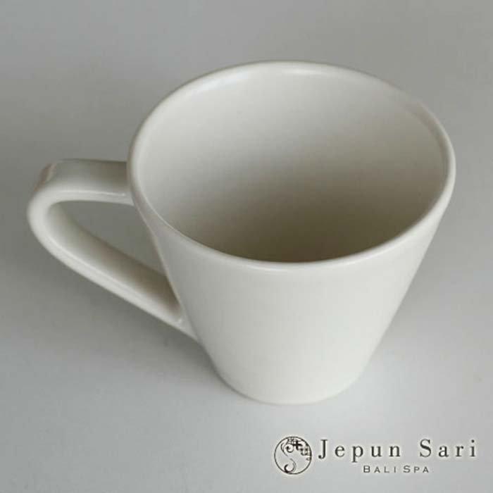 JENGGALA カップ&ソーサー マットホワイト サブイメージ