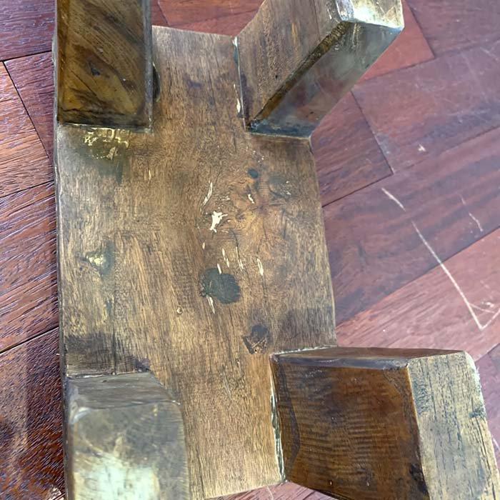古木スツール ロータイプ BR サブイメージ