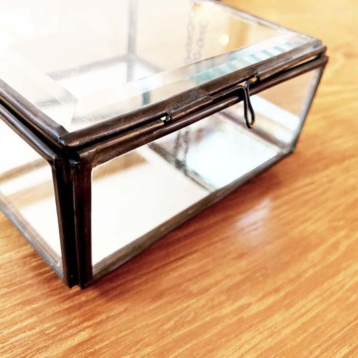 ガラスアクセサリーBOX 小 サブイメージ