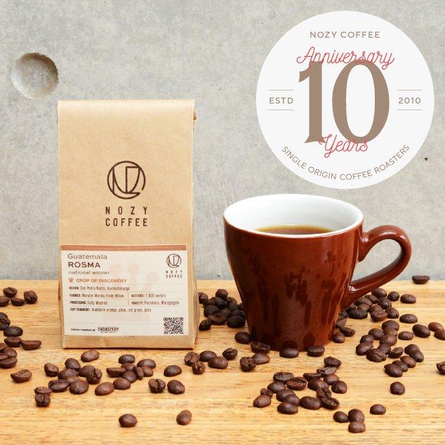 [ NOZY COFFEE 10th 豆/粉 ] グアテマラ ナショナルウィナー  ロスマ農園 100g