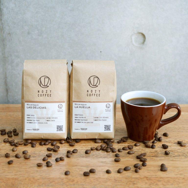[ 2種セット 豆/粉 ] ニカラグア ミエリッヒ コーヒーセレクション 100g × 2種
