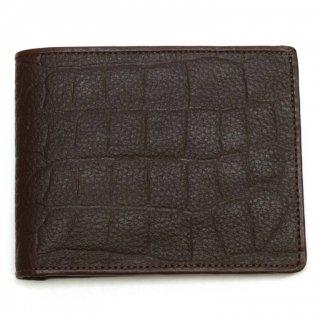 Genuine Leather 本牛革 ワニ型押し GL-W01