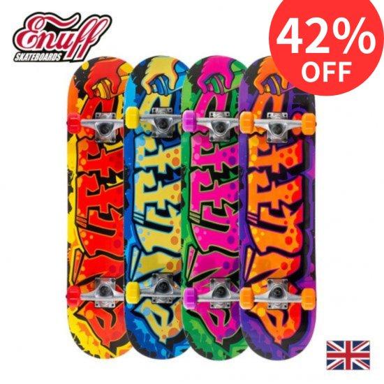 Enuff スケートボード GRAFFITI  ll【メープル7層デッキ ABEC7クロム鋼ベアリング】