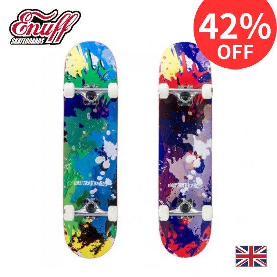 Enuff スケートボード SPLAT【メープル7層デッキ ABEC9カーボン鋼ベアリング】