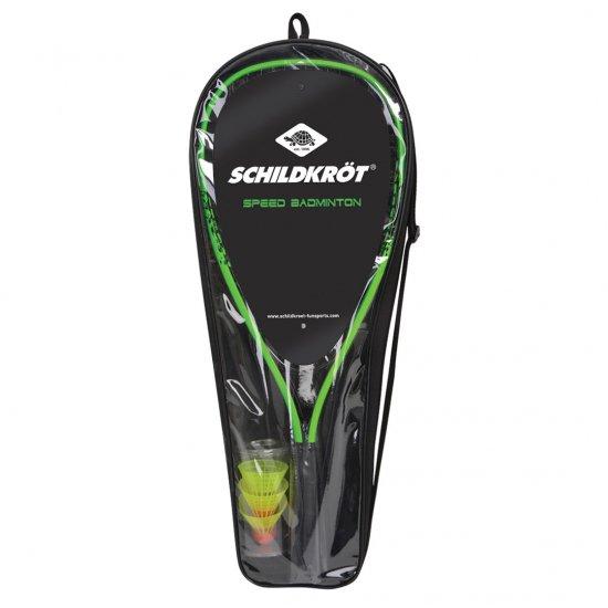 【SCHILDKROT / シルトクレート】 アウトドアバドミントン  Speed Badminton Set  ラケット  シャトル  練習用