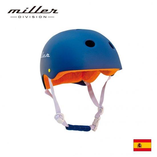 ミラー 子供用ヘルメット ネイビー