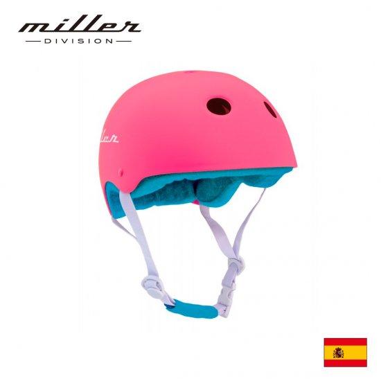 ミラー 子供用ヘルメット ピンク
