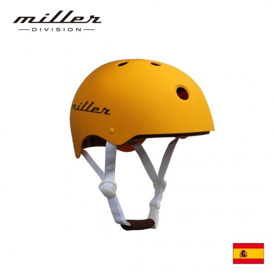 ミラー 子供用ヘルメット マンゴーイエロー