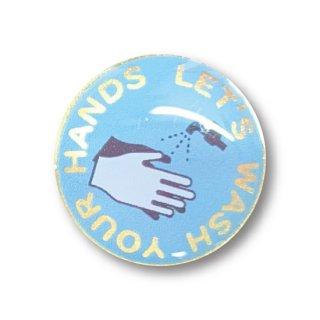 感染予防啓蒙バッジ 手洗い