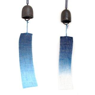 小田原鋳物と藍染短冊の風鈴