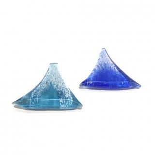 ガラス箸置き(富士山)