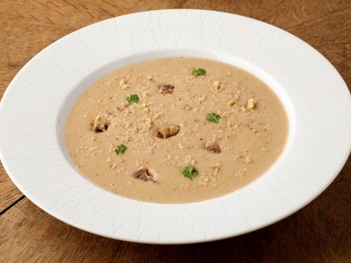 シャテーニュ栗のスープ<br /> Chestnut Velouté soup