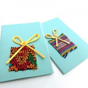 グアグアタルヘタ【グリーティングカード】BOX2/グアテマラ・青い空の会