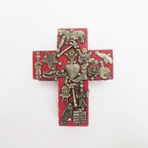 ミラグロのクロスS、十字架RE/メキシコ雑貨