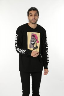 ONETSHIRT×Michael Roberts Drake Long sleeve T-shirt
