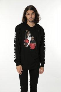 ONETSHIRT×Michael Roberts Kim&Kanye Long sleeve T-shirt
