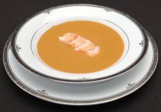 伊勢海老のクリームスープ[伊勢海老付き] 商品番号:TTS-02