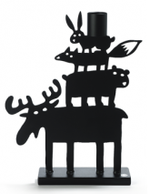 MOOSE PYRAMID CANDLE HOLDER (2 SIZE)