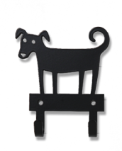 DOG HANGER BLACK