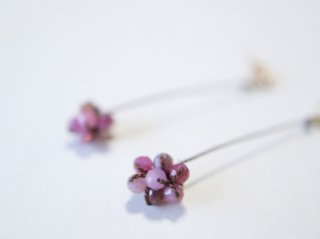 ルビーのberryのピアス