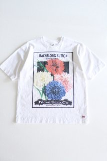 Niche (ニッチ) / Flower Seeds Tee - BACH