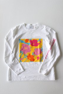 <img class='new_mark_img1' src='https://img.shop-pro.jp/img/new/icons16.gif' style='border:none;display:inline;margin:0px;padding:0px;width:auto;' />Laugh & Be... / CHERRY BOY LS Tee - WHITE