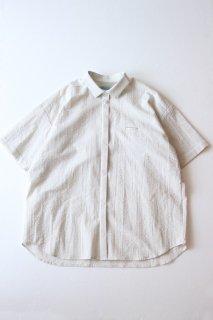 Dulcamara/ Sスリーブトレンチシャツ - OFF WHITE