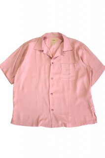 Sanca (サンカ) / RAYON ON UP OPEN S/S SHRTS - PINK