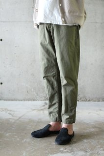 orslow/NEWYORKER PANTS - ARMY GREEN