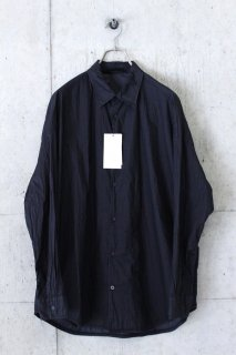 N.HOOLYWOOD / 2201-SH07-007peg ルーズシャツ - BLACK