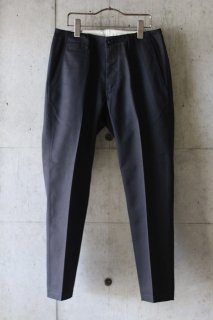 Sanca (サンカ) / Twill Tapered Trouser -BLACK
