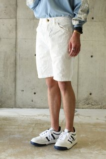 orslow/ PAINTER SHORTS - WHITE