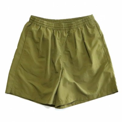 BURLAP OUTFITTER / TRACK SHORTS - NEW OLIVE