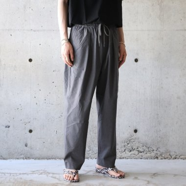 <img class='new_mark_img1' src='https://img.shop-pro.jp/img/new/icons16.gif' style='border:none;display:inline;margin:0px;padding:0px;width:auto;' />A Vontade / Comfort Wide Easy Trousers - CHARCOAL