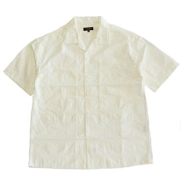 <img class='new_mark_img1' src='https://img.shop-pro.jp/img/new/icons16.gif' style='border:none;display:inline;margin:0px;padding:0px;width:auto;' />A Vontade / PW Open Shirt S/S - WHITE GREN CHECK