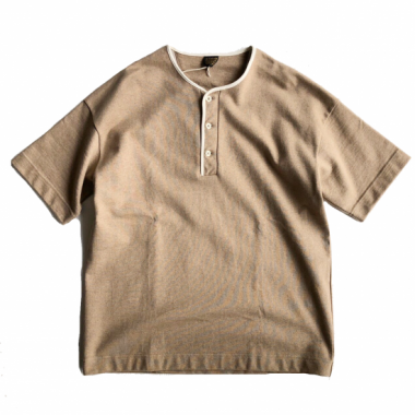 A Vontade / Piping Henly Top S/S Tee