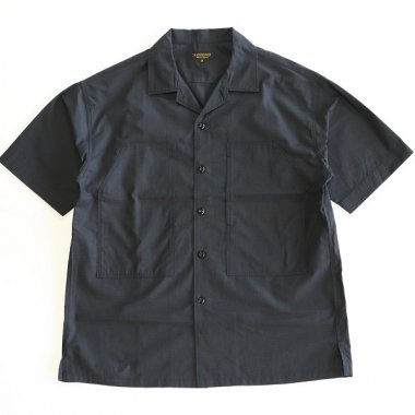 <img class='new_mark_img1' src='https://img.shop-pro.jp/img/new/icons16.gif' style='border:none;display:inline;margin:0px;padding:0px;width:auto;' />A Vontade / PW Open Shirt S/S - INK