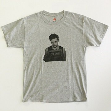 USED SELECT/ PRINTED TEE� - GREY