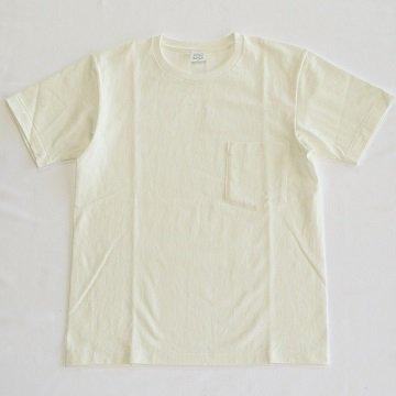 A Vontade / 7.5oz Tube Pocket S/S Tee - WHITE