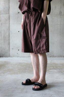 Badhiya / Cargo Shorts - saxony burgundy