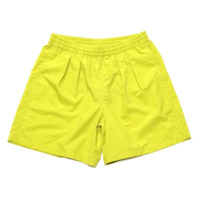 BURLAP OUTFITTER / TRACK SHORTS - MUSTARD