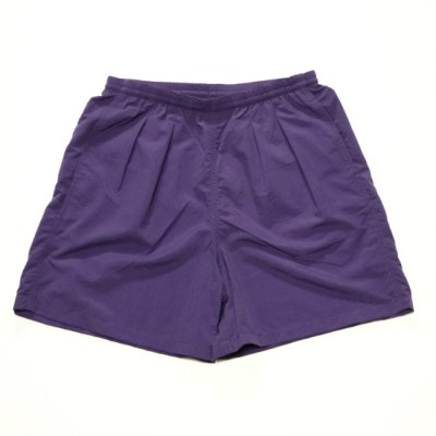 BURLAP OUTFITTER / TRACK SHORTS - PURPLE