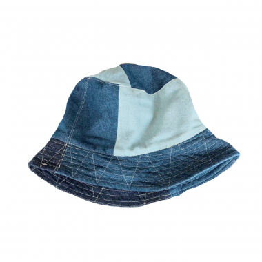 <img class='new_mark_img1' src='https://img.shop-pro.jp/img/new/icons16.gif' style='border:none;display:inline;margin:0px;padding:0px;width:auto;' />Engineered Garments/ Bucket Hat - Washed 8oz Denim