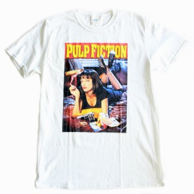 MOVIE TEE /  PULP FICTION SHORT SLEEVE TEE - WHITE