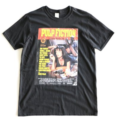 MOVIE TEE /  PULP FICTION SHORT SLEEVE TEE - BLACK