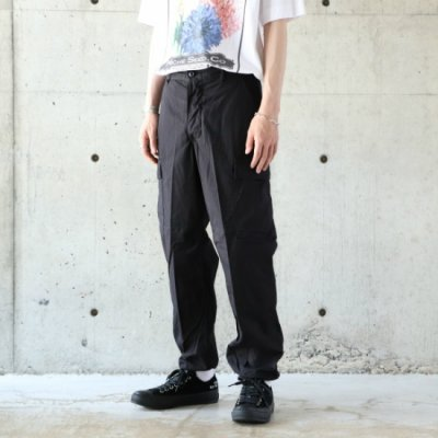 DEAD STOCK / US ARMY BLK 357 TROUSERS - BLACK