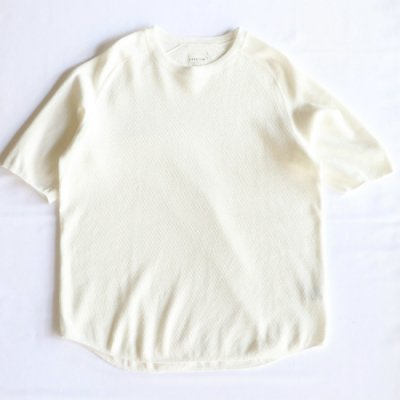 CURLY / CLOUDY HS TEE - WHITE